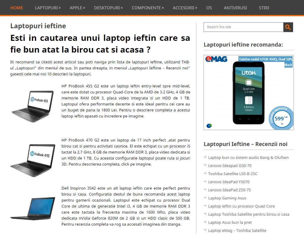 t53re Laptopuri ieftine, recenzii si informatii (P)