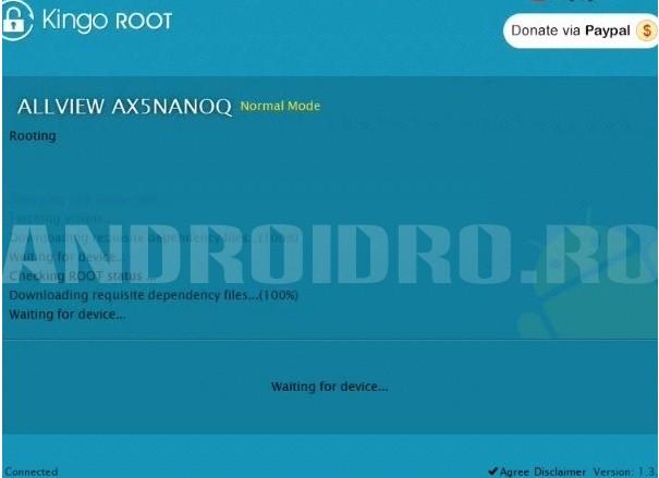tzfd Cum faci root pe tableta Allview AX5 Nano Q