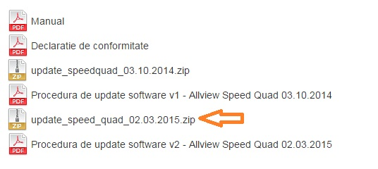 we Android 5.0 Lollipop Disponibil Pe Allview Speed Quad