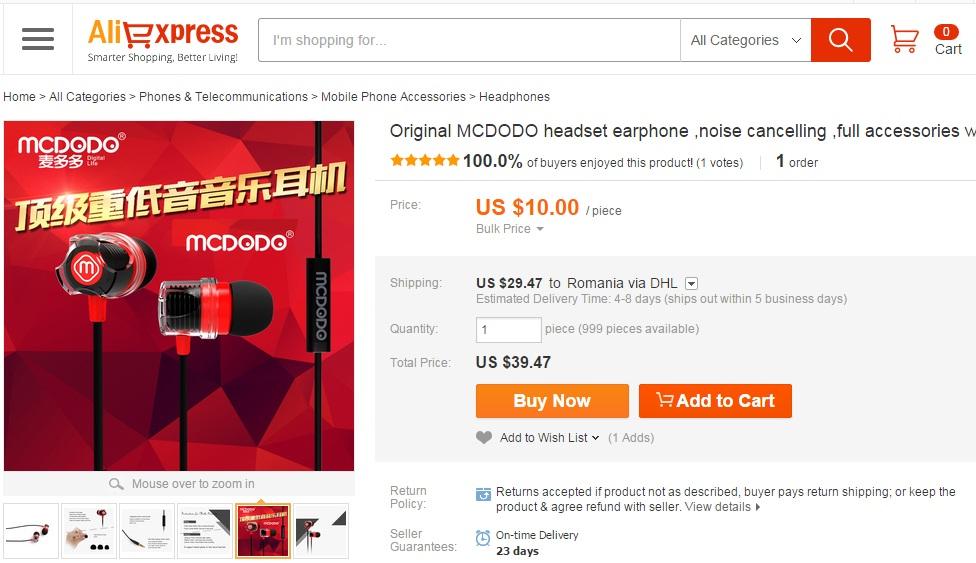 yh Ce electronice ieftine mai cumparam din China