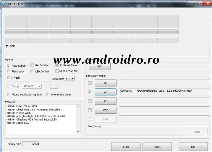 e5tr Root si instalare CWM pe Galaxy S4 cu Lollipop 5.0
