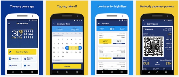 etghs Aplicatii Android WizzAir si Ryanair