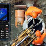 Vertis 1810 KERN cel mai ieftin telefon rezistent la soc, praf si apa