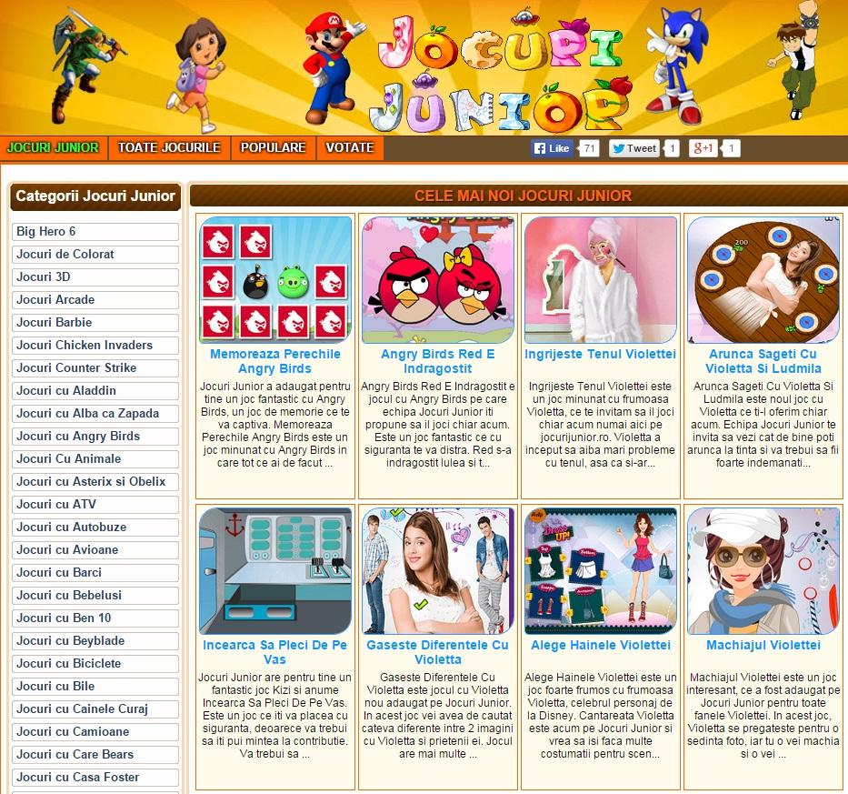 tfjhnv Si un site bun de jocuri online pentru copii