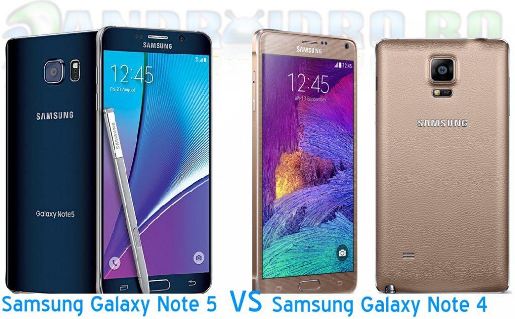 09 Samsung Galaxy Note 5 comparatie cu Galaxy Note 4