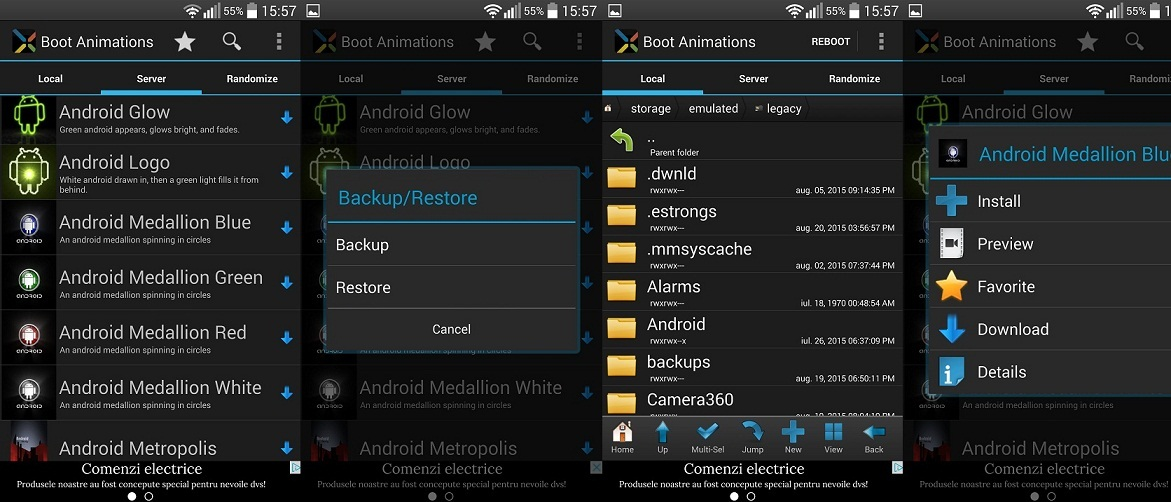 55 Cum sa schimbi animatia de boot pe un telefon Android