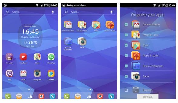 764rw 5 noi launchere pentru telefoanele Android