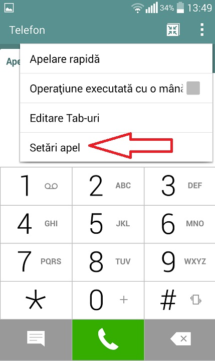 Screenshot_2015-08-28-13-49-34 Redirectionare apeluri pe un telefon Android