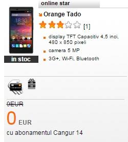 dff Oferte de telefoane gratuite impreuna cu abonament la Orange