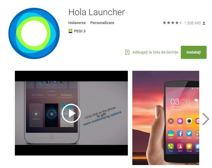 er45 10 aplicatii pentru personaliare Android August 2015