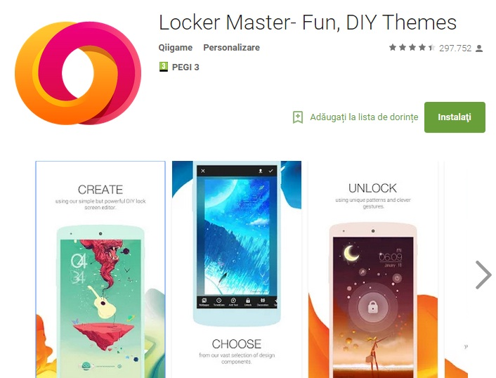 popo 10 aplicatii pentru personaliare Android August 2015