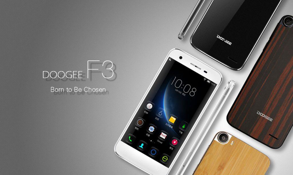 Doogee F3 Pro cu ecran LG si camera Samsung oferta pe gearbest.com