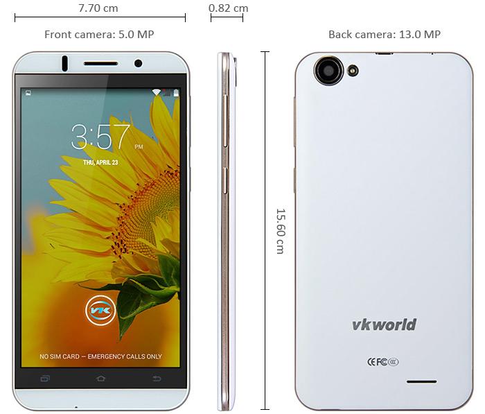 "rtrg Oferta zilei: VKWORLD VK700 telefon quad core 5.5"" HD la numai 320 lei"