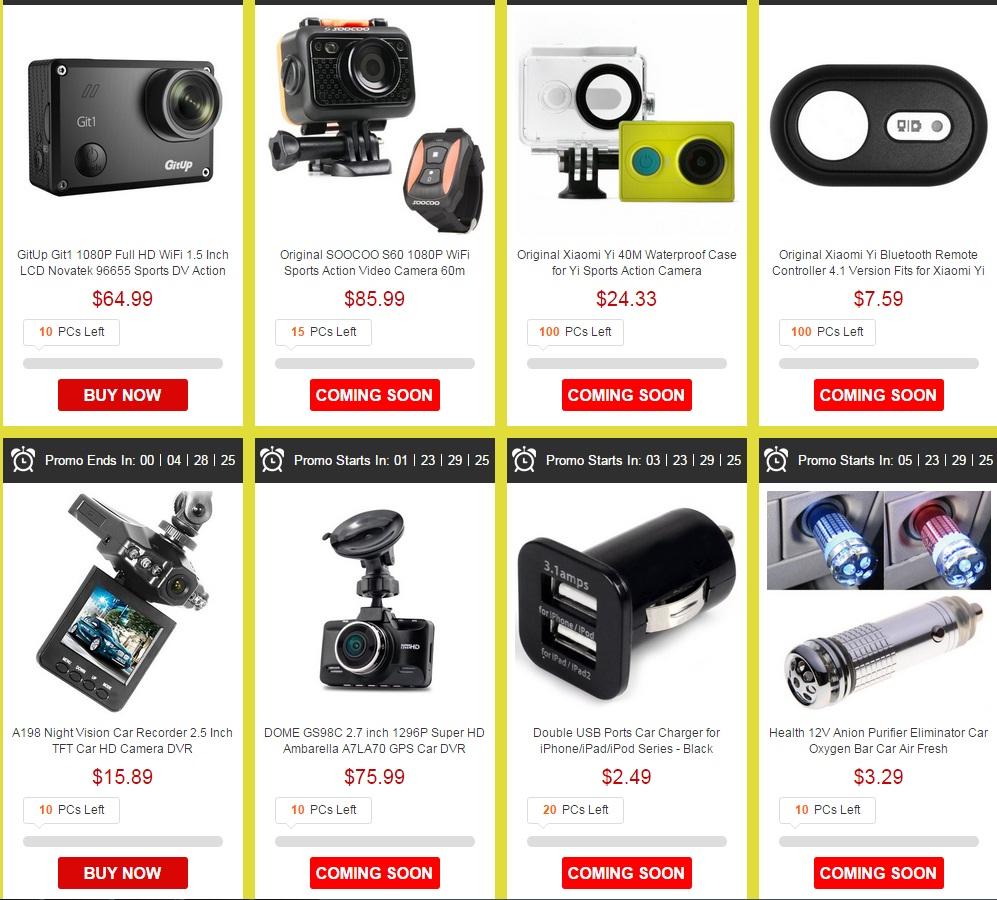 sad Super promotii la telefoane si electronice pe gearbest.com