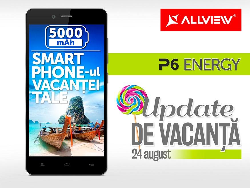 werf Allview anunta update la Android 5 Lollipop pentru P6 Energy
