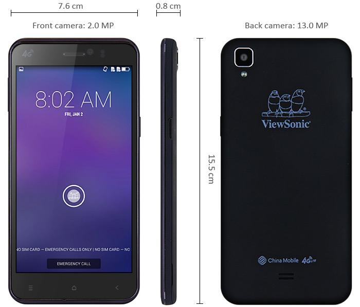 ViewPhone V500-3 bk2 ViewPhone V500 cel mai ieftin telefon 4G cu super dotari