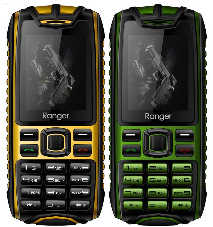 fff Evolio Ranger telefon rugged rezistent la apa si praf