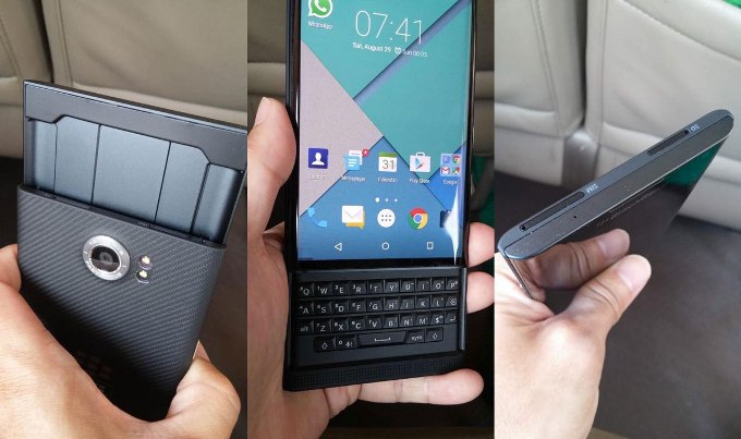 hhh BlackBerry Lanseaza Primul Telefon cu Android: Priv Venice