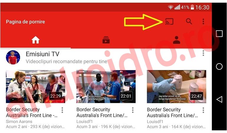 111edtr6 Cum conectezi un telefon la un Smart TV pentru vizualizare pe YouTube