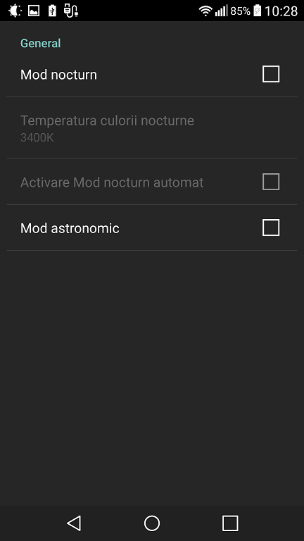 Lux Lite aplicatie ce seteaza corect luminozitatea telefonului