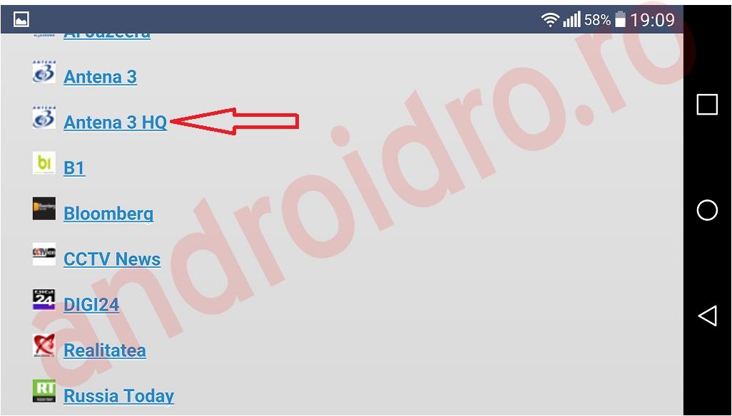 2 Posturi tv online din Romania pe telefon Android cu pbxtv