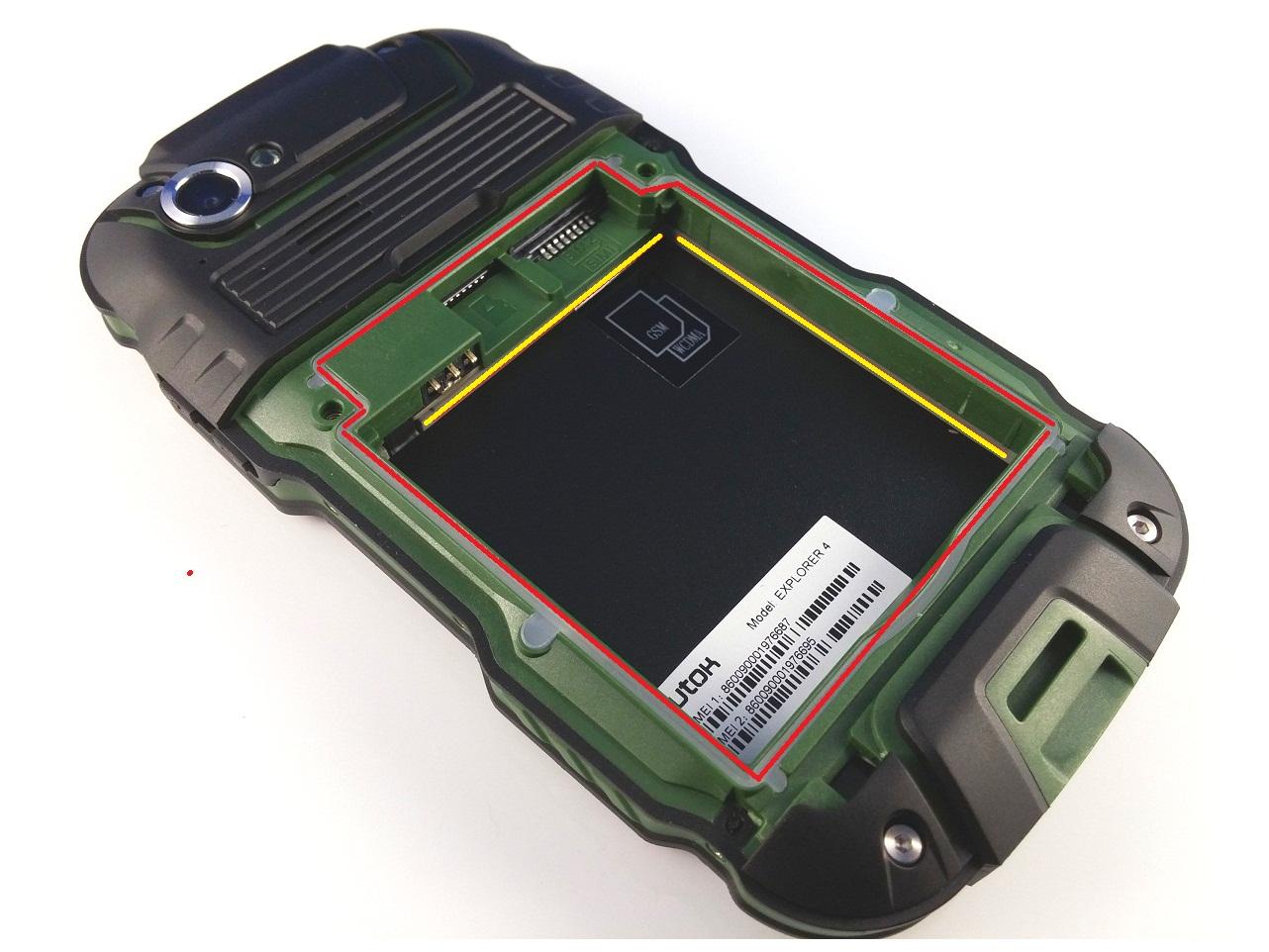 gar Unboxing UTOK Explorer 4, telefon rugged IP 68