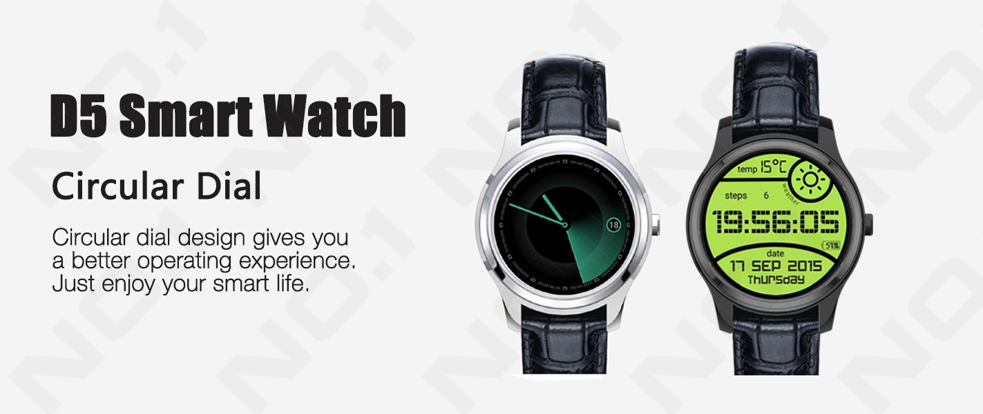 000000 (3) No1 D5 Smart Watch, ceas inteligent de calitate din China, pret si specificatii