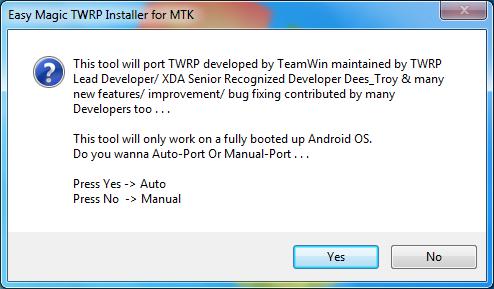2 (1) Instalare TWRP Recovery pe telefoane cu procesor MediaTek