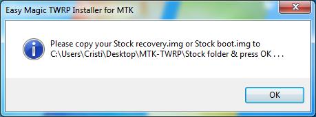 3 (1) Instalare TWRP Recovery pe telefoane cu procesor MediaTek