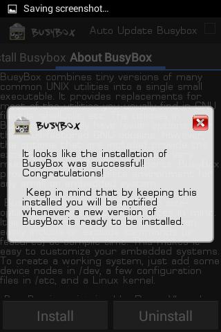 3 (2) Busybox, aplicatie indispensabila telefoanelor ce au root facut