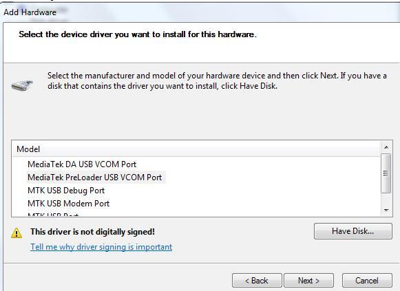 3 Cum se instalează driverele necesare pentru SP Flash Tool