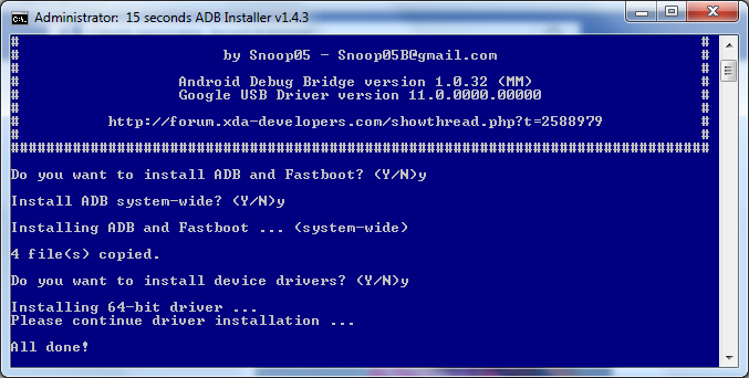 4 Cum instalam corect ADB Driver - Android Debugging Bridge