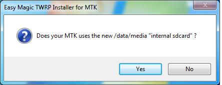 7 Instalare TWRP Recovery pe telefoane cu procesor MediaTek