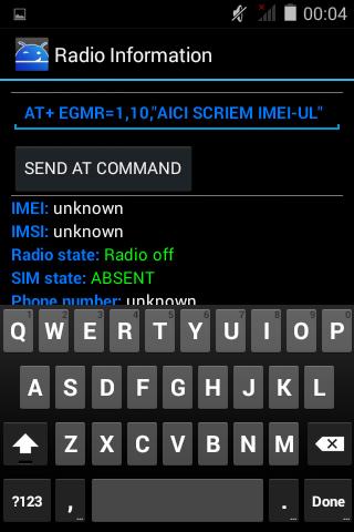 9 Rescriere IMEI folosind aplicatia Mobileuncle Tools