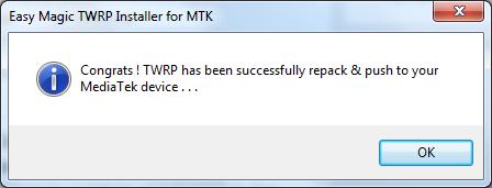 9 Instalare TWRP Recovery pe telefoane cu procesor MediaTek