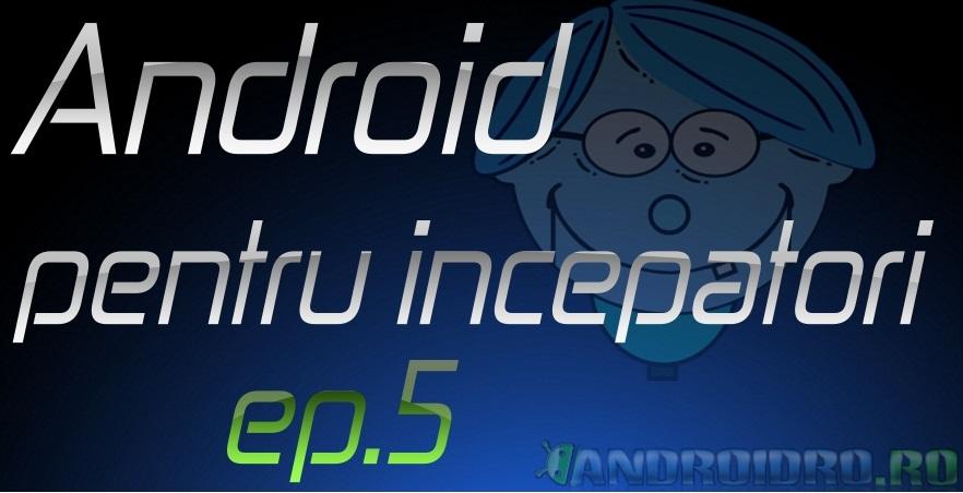 ep5 Ep5 - Cum setez alarma pe un telefon cu Android