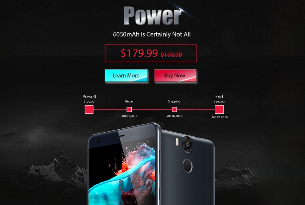 1 Ulefone Power este disponibil spre precomanda si va primi curand Android 6 Marshmallow