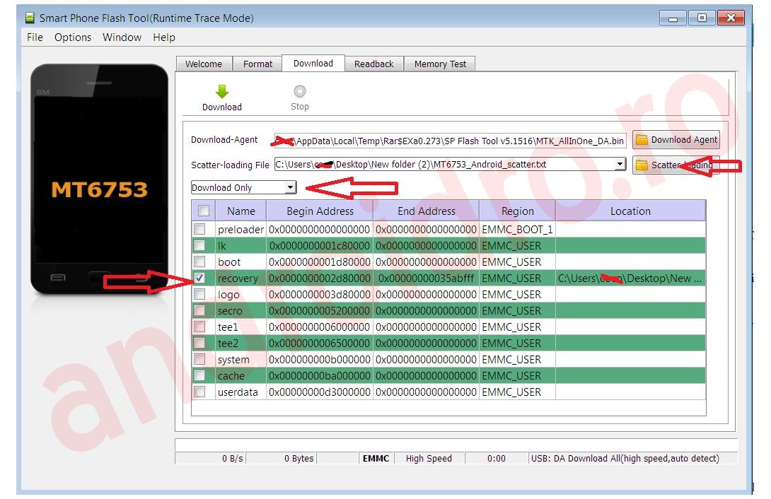 34 Root pe Allview V2 Viper X si instalare CWM recovery