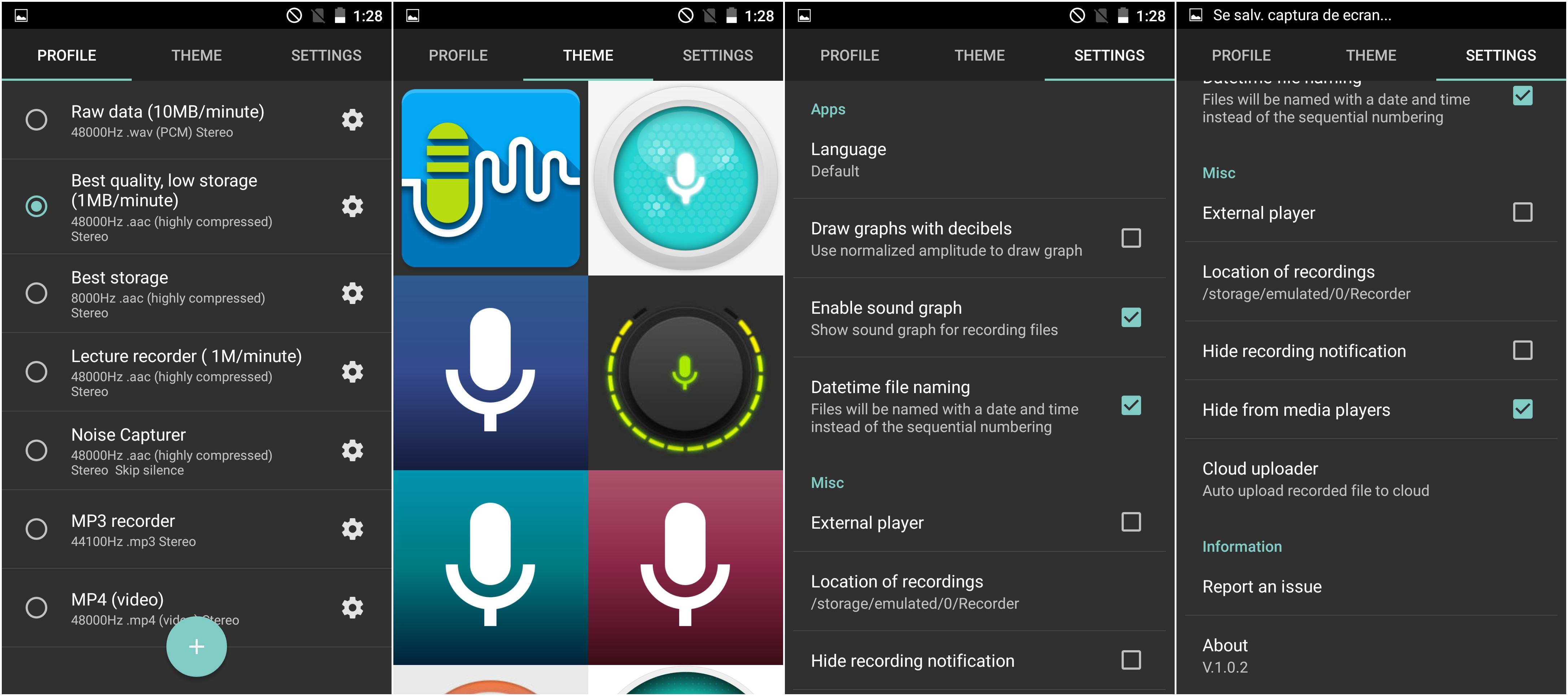 descărcare (1) Recordr - sound recorder profesional pentru Android cu functii interesante