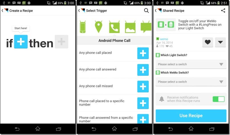 descărcare Automatizeaza-ti telefonul nerootat, cu IF by IFTTT
