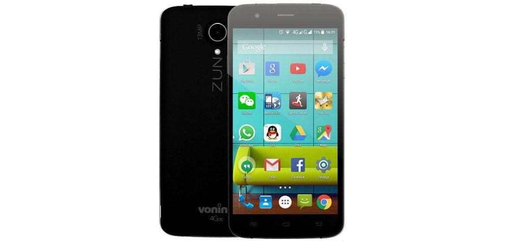 gggrrr Vonino Zun XO 4G un octacore romanesc cu 2GB RAM chiar ieftin
