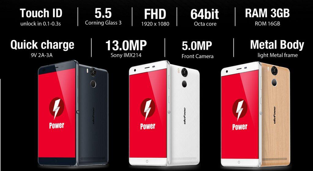 ttt Ulefone Power este disponibil spre precomanda si va primi curand Android 6 Marshmallow