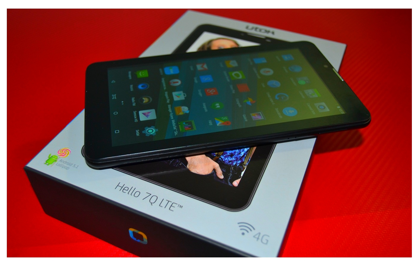 4 Unboxing si primele pareri, tableta UTOK Hello 7Q cu conectivitate LTE