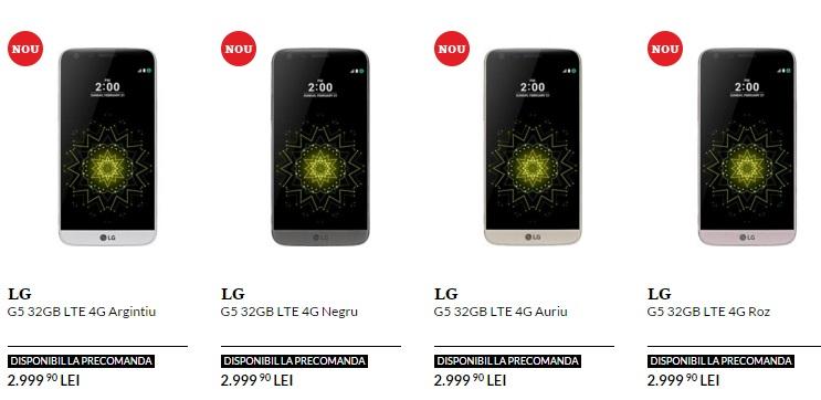 ty LG G5 ajunge si in magazinele din Romania, iata pretul telefonului!