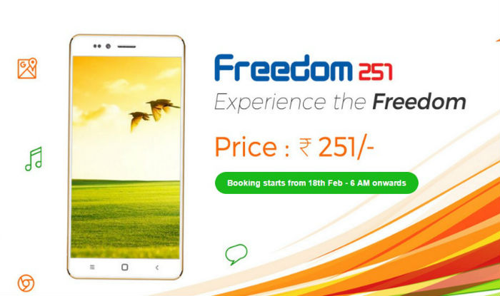 uu Freedom 251 este un telefon cu specificatii foarte bune pentru numai 15 lei!