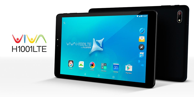 01_h1001lte Allview Viva H1001 LTE, tableta noua de la Allview cu conectivitate 4G