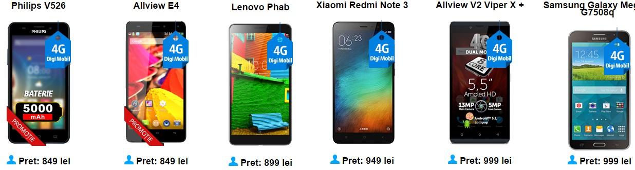 4545 Ce telefoane merita sa cumperi de la Digi Mobil? Iata cateva pareri in functie de buget