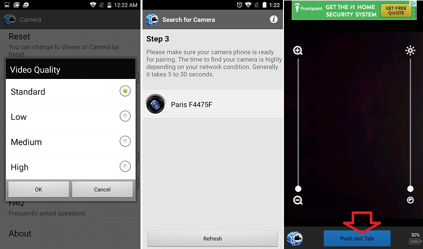 56 Transforma telefonul in camera video de supraveghere, Walkie Talkie sau webcam!