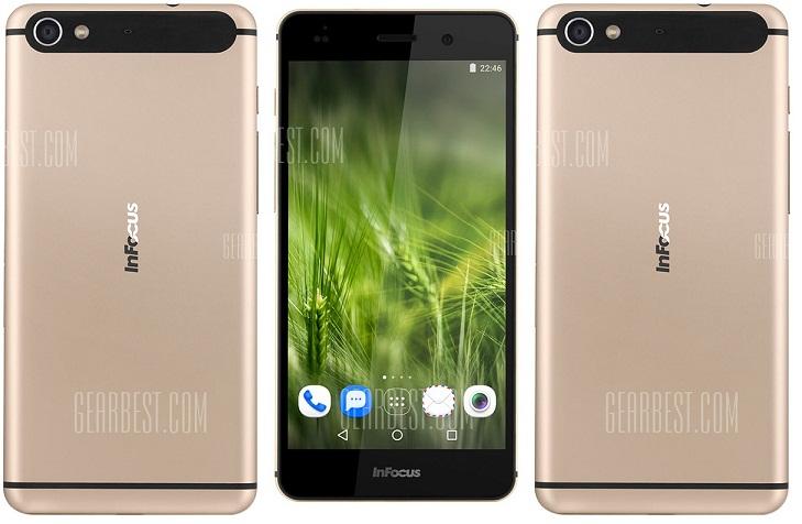 5656 Infocus M560, telefon 4G cu ecran FHD si pret de numai 450 lei!