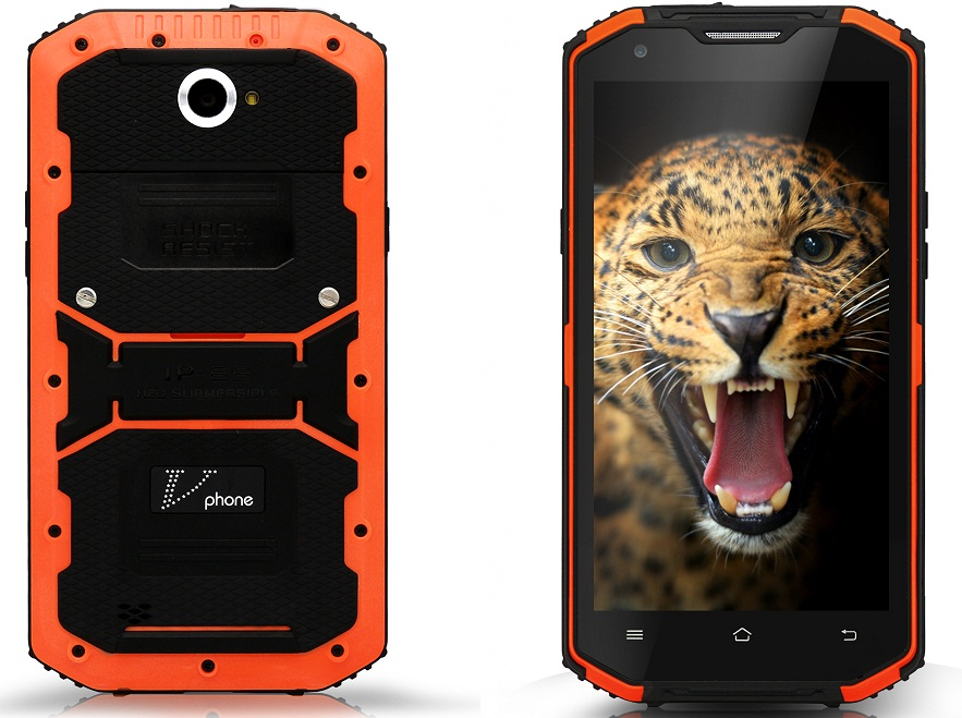 89 VPhone X3, telefon rugged cu protectie IP 68 si specificatii bune